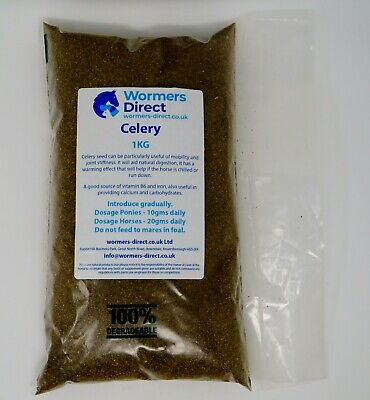 Celery Seed Equine Herb For Horses  - Mobility and Joint Stiffness - 1kg