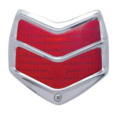 1940 FORD TAILLIGHT ASSEMBLY SGT STRIPES HOT ROD CUSTOMS MOTORCYCLE
