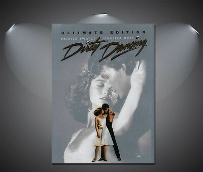 Dirty Dancing Vintage Movie Large Poster - A0, A1, A2, A3, A4 Sizes