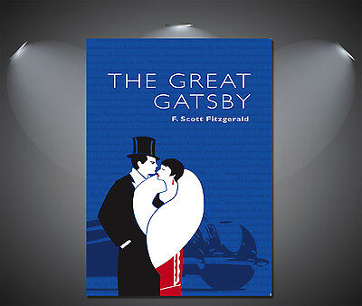 The Great Gatsby Large Vintage Movie Poster - A0, A1, A2, A3, A4