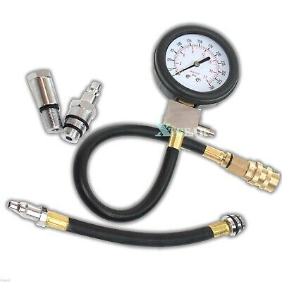 Auto Motor Multi-Function Gas Engine Compression Cylinder Pressure Gauge Tester