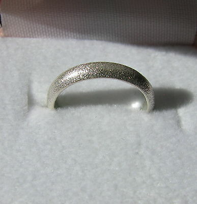 Sterling Silver Ring - Size 3.25