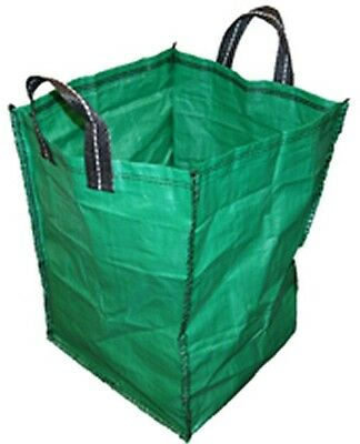 5 x GARDEN WASTE BULK BAG HEAVY DUTY SHOPPING LIFTING BAG 120 LITRE