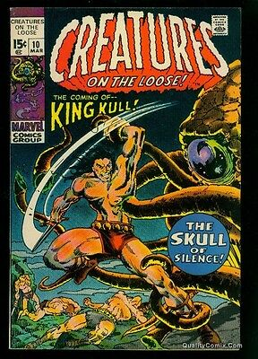 Creatures on the Loose #10 VF/NM 9.0