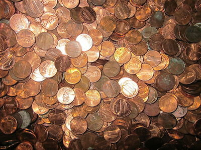 USA Unstamped 1 Cent Coins All In Good Condition