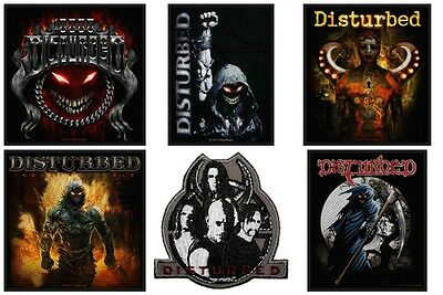 Disturbed Sew On Patch/Patches NEW OFFICIAL. Choice of 5 designs