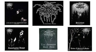 Darkthrone Sew On Patch/Patches NEW OFFICIAL Dark Throne. Choice of 7 designs