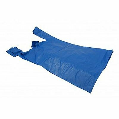 100 Plastic Shopping Carriers Carrier Bags