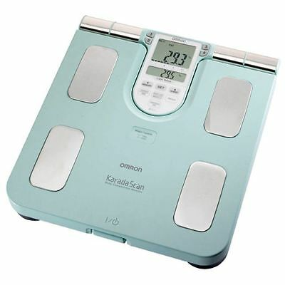 Omron BF511 Turquoise Family Body Composition Monitor New