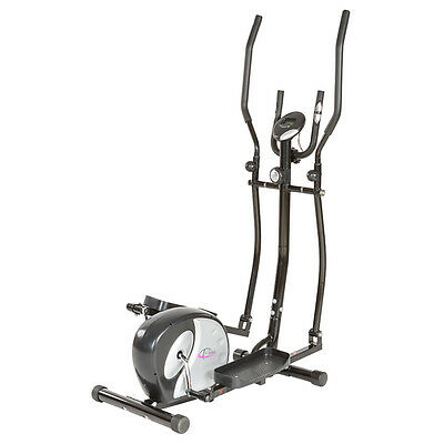 Cyclette Ellittica Professionale Elliptical Magnetica Ergometro Con Display Lcd