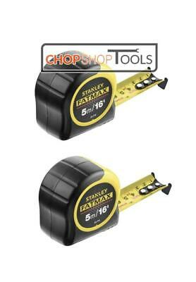 Stanley FatMax 5m Tape Measure Blade Armor 5m / 16ft 0-33-719 Pack of 2