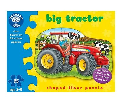 Orchard Toys Big Tractor Floor Puzzle - 224