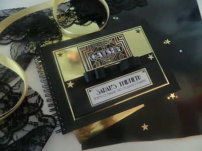 21st Guest Book, 30th Keepsake, 40th Signature Book, 18th Birthday, Personalised