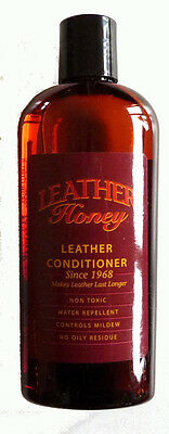 Leather Honey Leather Conditioner - Softener - Protector  8 oz (1/2 Pint)