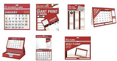 2018 Hanging Wall Calendar Large Month to View Planner-Easy View Calendar-Slim