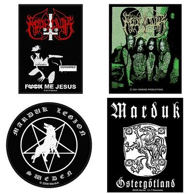 Marduk Sew On Patch/Patches NEW OFFICIAL. Choice of 4 designs
