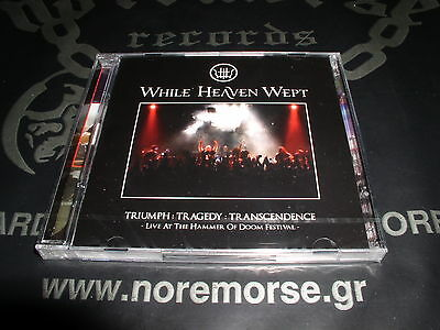WHILE HEAVEN WEPT - Triumph:Tragedy:Transcendence: Live, 2CD 2010 Brand NEW