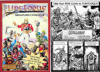 Flintloque/Slaughterloo 'Flintloque Miniatures Catalogue' & Guide to Flintloque