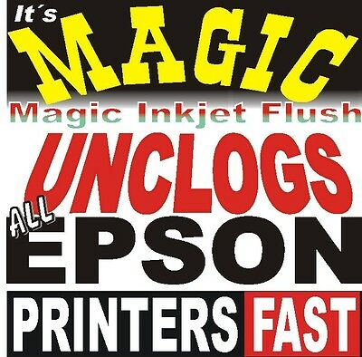 Unblock Fix Ink Clog. Print head Cleaning Kit Epson Stylus Pro 7900. Cleaner New