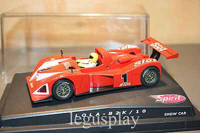 Slot SCX Scalextric Spirit Lola - B2K / 10 - Show car - Mas Slot Limited Edition