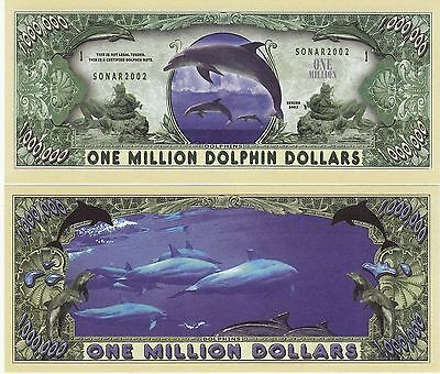 Novelty Notes / Fun Money - DELPHIN / DELFIN / Tümmler /  Dolphin    -  *neu*