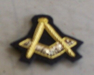 Masonic Hat Badge,Small, Civil War, New