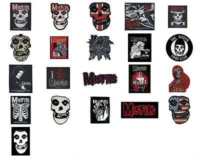 Misfits Sew On Patch/Patches NEW OFFICIAL. Choice of 24 designs