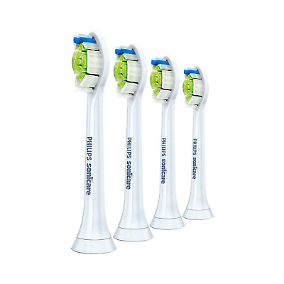 4x Philips Sonicare DiamondClean Genuine Standard Brush Heads | White | w/o Box