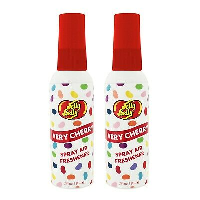 Jelly Belly Bean Sweet SPRAY Air Freshener Car Home Fragrance Scent VERY CHERRY