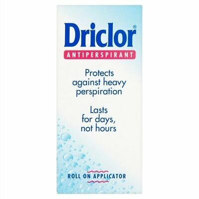 Driclor Solution | Excessive Perspiration | Roll-On | 20ml