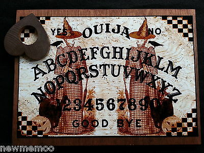 Wooden Ouija board The Witch Twins Seance & Planchett weeja fortune telling