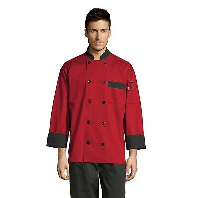 Newport chef coat, many colors, XS through 3XL, 0404 Free Shipping