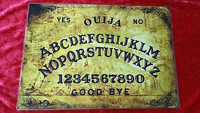 Seance Old London Thames Ouija Board laminated sheet fortune telling Halloween