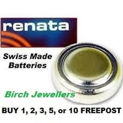 RENATA 379 SR521SW Swiss Watch Cell Battery Silver Oxide 1.55V New X 1,2,5,10