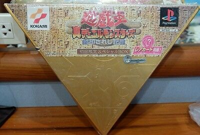 NIB! Yugioh Playstation Duel Monster (1999)With 3 Cards (Japanese Version)