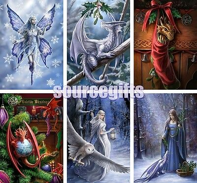 New Yuletide Yule Greetings Card Cards - Wicca, Pagan & Goth With Free Post