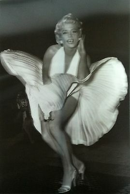 Marilyn Monroe 18x26 3D Holographic Poster Seven Year Itch