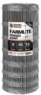 Premium Hinge Joint Fencing wire  8/90/15 x 100m x 2.00mm Rural Boundary fencing