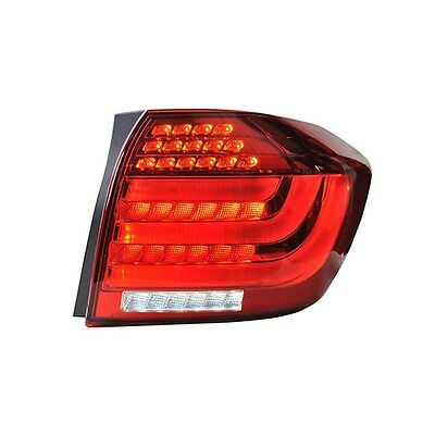 LED Tail Lights Rear Lamp BMW Style For Toyota Highlander 2012~2013