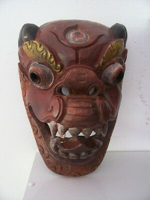 old Head Asia Bali mask