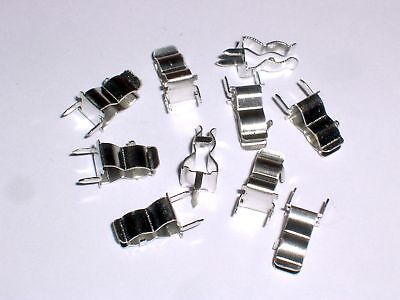 100pcs pcb mount fuse clip 6A for 5mm fuse Provide Tracking Number