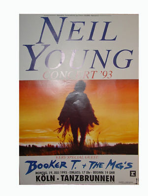 Neil Young - Germany July 19 1993 Tour POSTER