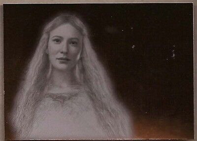 Lord Of The Rings Masterpieces 2 Bronze Parallel  Foil Chase Card #2/9 Galadriel
