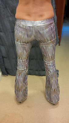 Burning Man Custom Dance Pants by Lulie Vision Extra Long Size 0