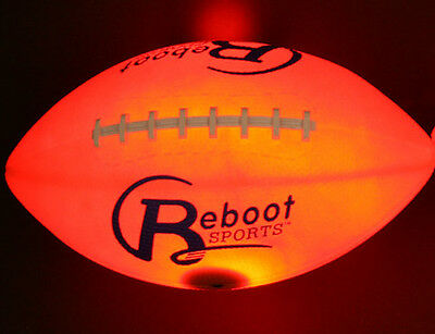 Brand New Reboot Sports LED Lighted Football Youth Size #6 The Original