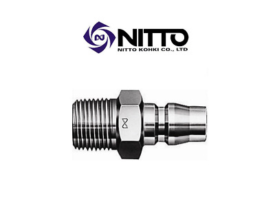 Genuine NITTO Hi Cupla Standard 1/4 Coupling - NC20PM