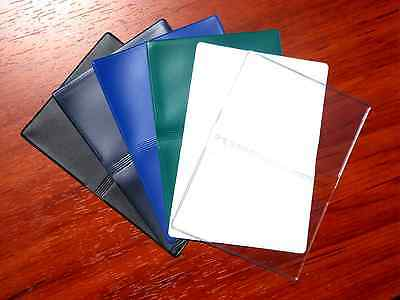 Vinyl Business Card Cases, Debit Credit Gift ID Licenses Slim Wallet Thin Holder