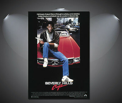 Beverly Hills Cop Eddie Murphy Vintage Movie Poster - A1, A2, A3, A4 available