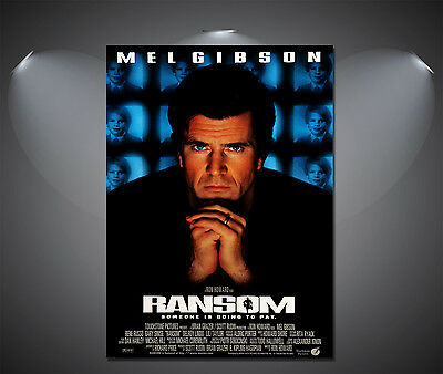 A2 Ransom Mel Gibson Vintage Movie Poster A4 Sizes A1 A3