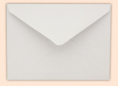 C7/ A7 White Envelopes Gummed Diamond Flap 1, 100, 250, 500, 1000